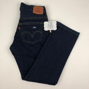 Levi's 501 Button Fly Distressed Jeans